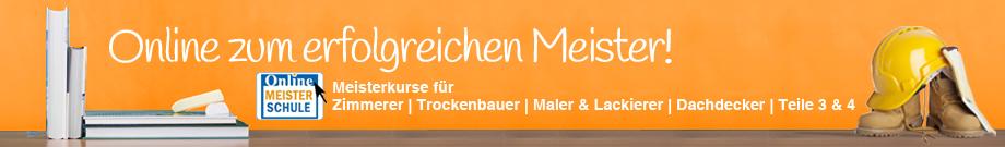 Banner Online Meisterschule