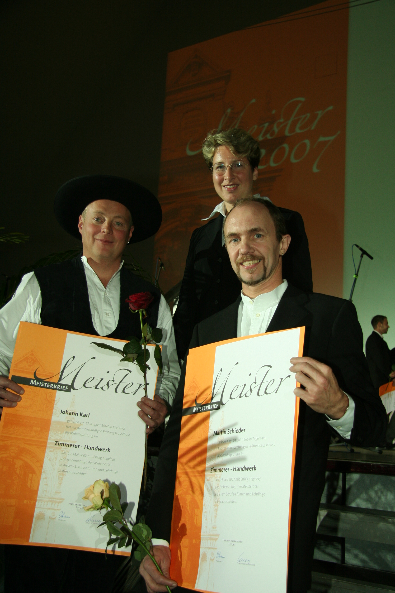 Hans Karl, Martin Schieder, Simone Pfeffer-Brandl