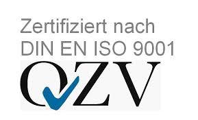 Zertifizierungslogo nach DIN ISO 9001:2008