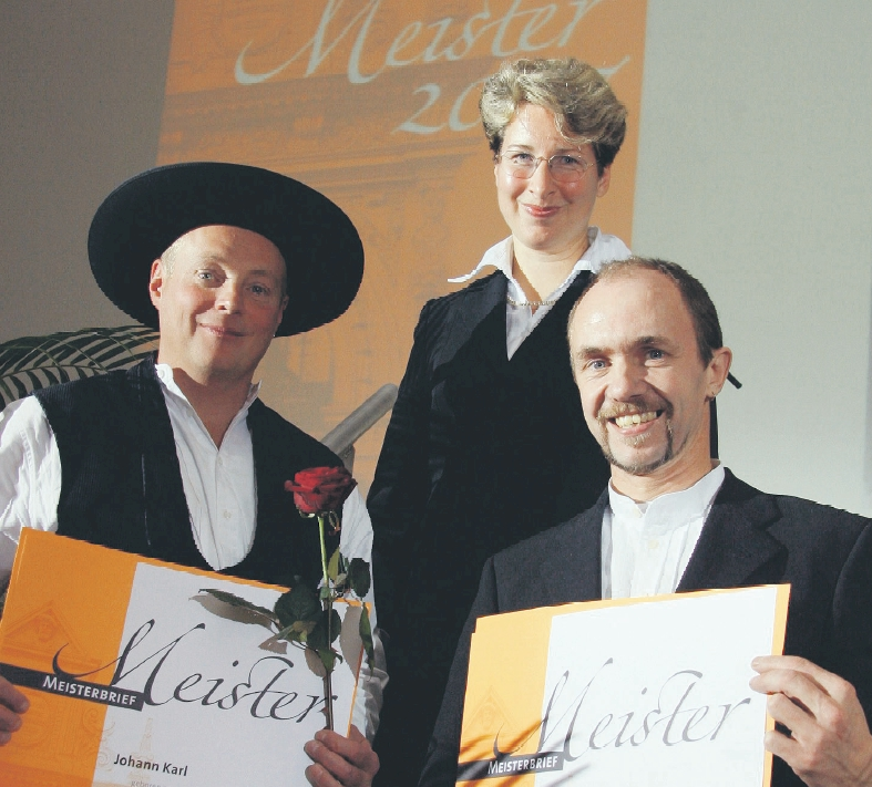 Lossprechungsfeier in Erfurt